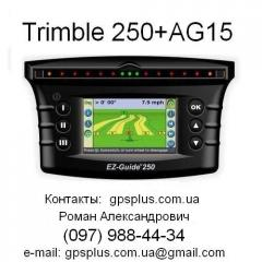 System of parallel driving Trimble EZ-Guide 250