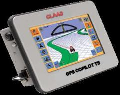 System of parallel driving CLAAS GPS Copilot TS