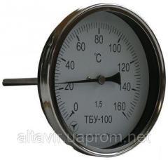 Термометр для жидкостей и газов ТБУ-100 (осев.)