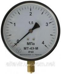 Манометр МТ-4У (кл.т.1, 0) 0…600 Кра(6...