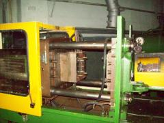 Parts of the automatic molding machine and the TPA