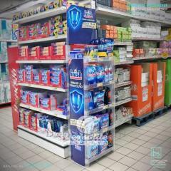 Стеллажи пластиковые сборные