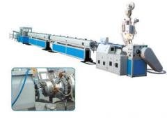 The equipment for production of plastics from the