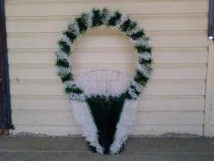 Ritual wreaths, baskets