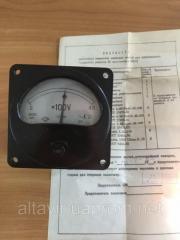 Вольтметр щитовой переменного тока Э8021 450В