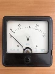 Вольтметр щитовой переменного тока Э377 15В