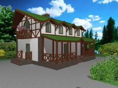 Проект дома Бавария. Проекты частных домов,