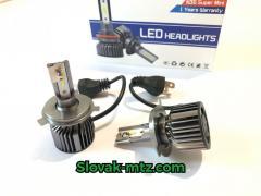 Светодиодный Комплект LED ламп HeadLight T18 H4