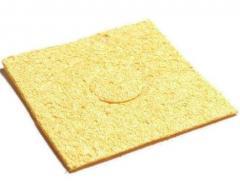 Губка для очистки жал паяльника Желтый