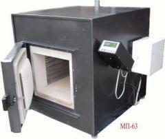 MP-63 muffle furnace.