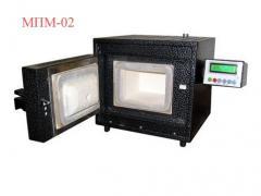 The muffle MPM-02 furnace.