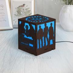 Еко фонарь Сверхъестественное Ночник из дерева