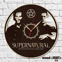 Supernatural Сверхъестественное Часы кварцовые