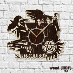 Сверхъестественное часы Часы с тихим ходом Супер