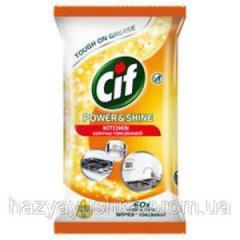 Cif - влажные чистящие салфетки для ванной, 60шт.