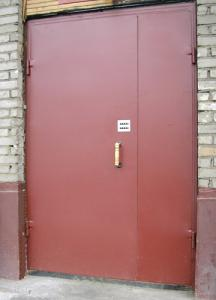 Les portes métallique