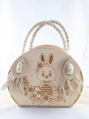 Детская пасхальная сумочка корзина сумка с