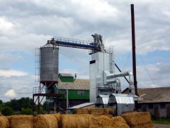 Complex zernosushilny on KS-16 biomass