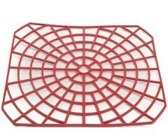 Решетка для раковины Горизонт Красная (GR 03023к)