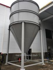 Бункера металлические 100 куб.м.