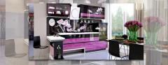Кухня Магнолия, набор мебели кухонной эксклюзивного дизайна