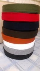 Cuffs knitted seamless