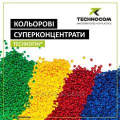 Суперконцентрат красителя для полимеров
