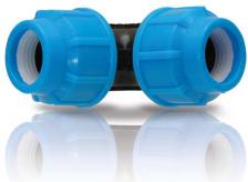 ПНД Отвод (Колено), синяя серия, турция Arangul