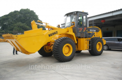 The Loading capacity XG962 wheel loader - 6 tons