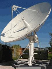 Станция антенная наземная, антенная система,