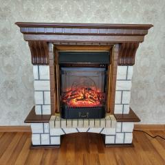 Каминокомплект Fireplace Лондон со звуком