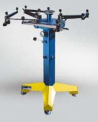 Tables rotary for sealing of double-glazed windows
