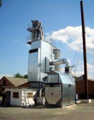 Complex zernosushilny on KS-8 biomass