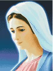 АМС-007. Набір алмазної мозаїки Діва Марія