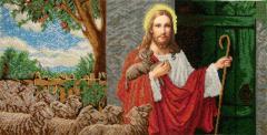 ІСД. Схема для вишивки бісером Ісус стукає у