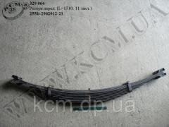 Ресора перед. 255Б-2902012-21 (L=1510, 11 лист.)
