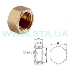 Pipe stubs from mm brass 20 an internal thread