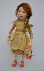 Коллекционная кукла Натали