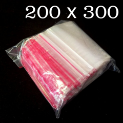 ЗИП пакеты с замком ZIP-LOCK, размер 200х300 мм, уп. 100шт (СИНДТЕКС-0081)