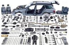 The auto parts of NISSAN (Nisan) which were in the