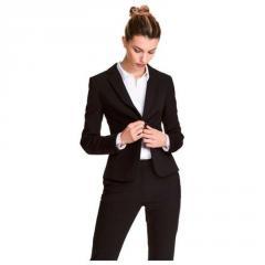 Пиджак женский черный h&m