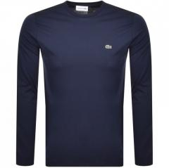 Кофта, футболка, Lacoste Crew Neck Long Sleeved T