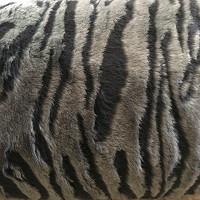 Передние чехлы меховые темно-серые (1+1)