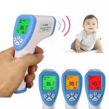 Бесконтактный инфракрасный термометр...