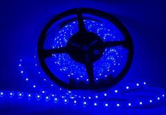 Светодиодная лента LED 3528 Blue 60 12V в...