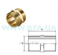 Nipples equilateral brass 20 mm of GOST 8958-75