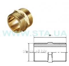 Nipple of brass 25 mm of GOST 8958-75