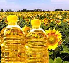 Sale of the sunflower refined oil