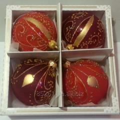 Christmas tree decorations from glass, a manual