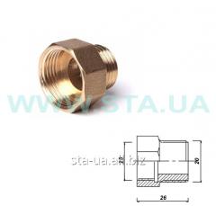Transition brass 25/20mm V-N of GOST 8958-75
